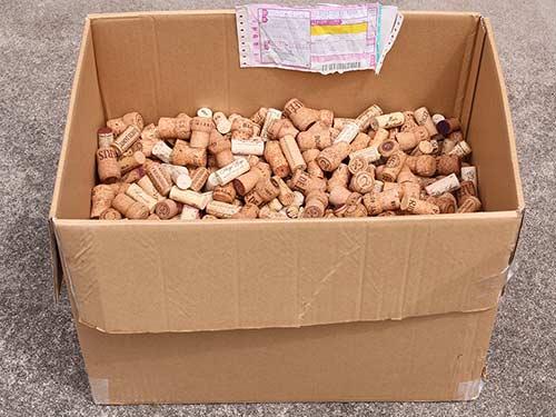 コルク栓の回収